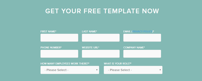This is a HubSpot contact form.